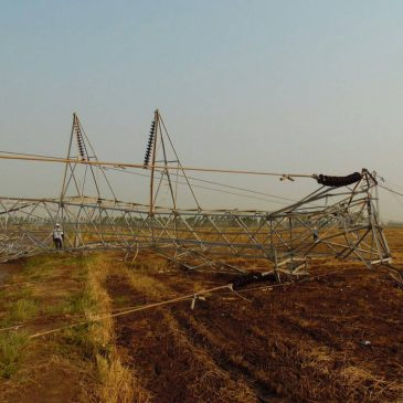 พายุฤดูร้อนทำเสาส่งไฟฟ้าแรงสูง ช่วงพิษณุโลก–นครสวรรค์ล้ม กฟผ. เร่งแก้ไข ยันไม่ส่งผลกระทบผู้ใช้ไฟฟ้า